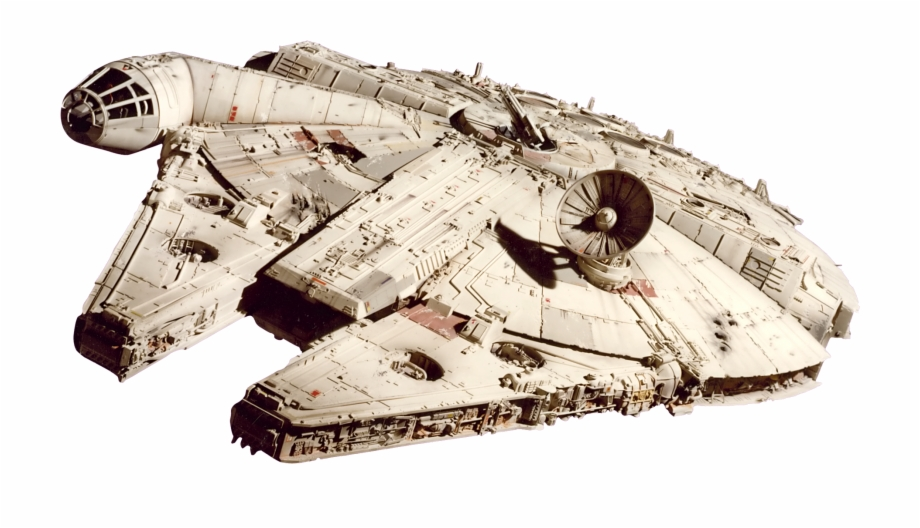 Star Wars Millennium Falcon Png Free PNG Images & Clipart.