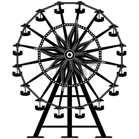 Ferris Wheel Silhouette Stock Photos Images. Royalty Free Ferris.