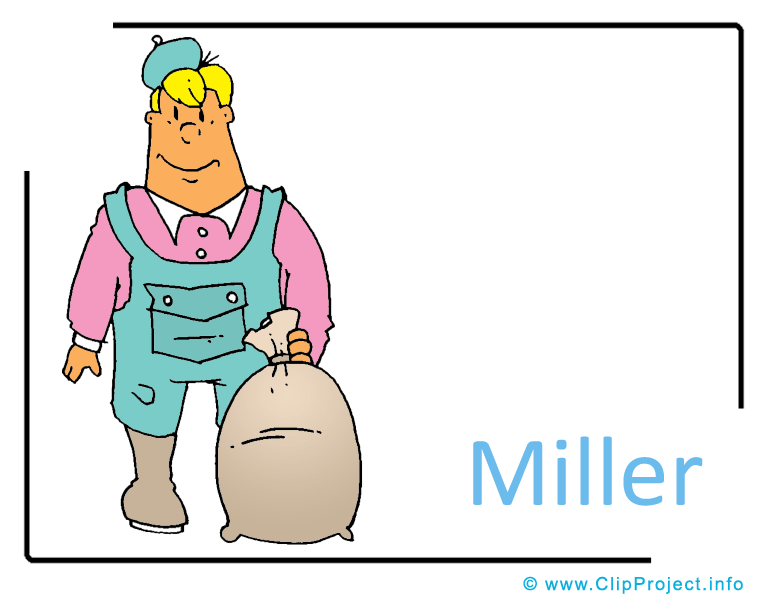 Miller Clipart Image free.