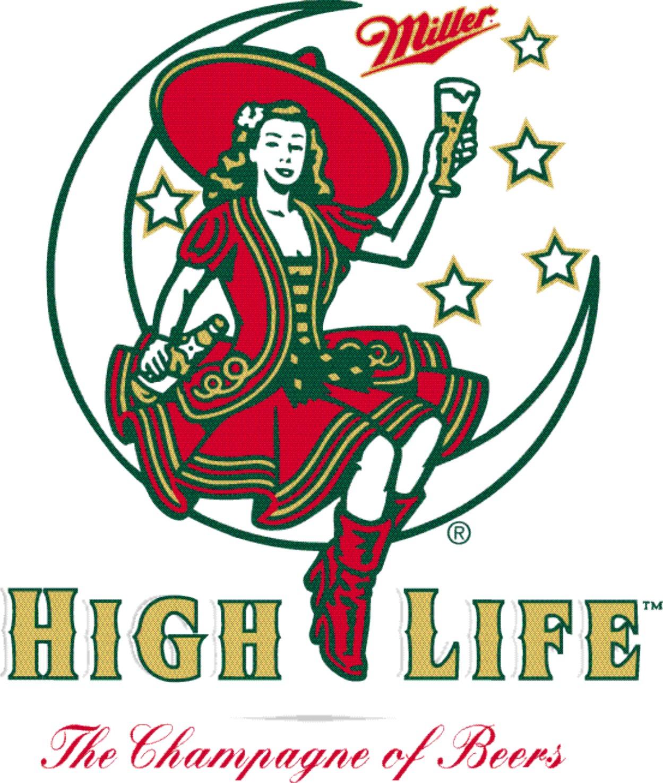 Miller high life clipart.