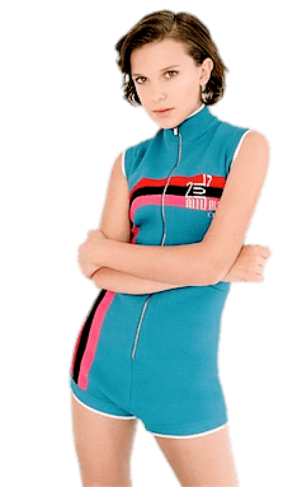 Millie bobby brown PNG.