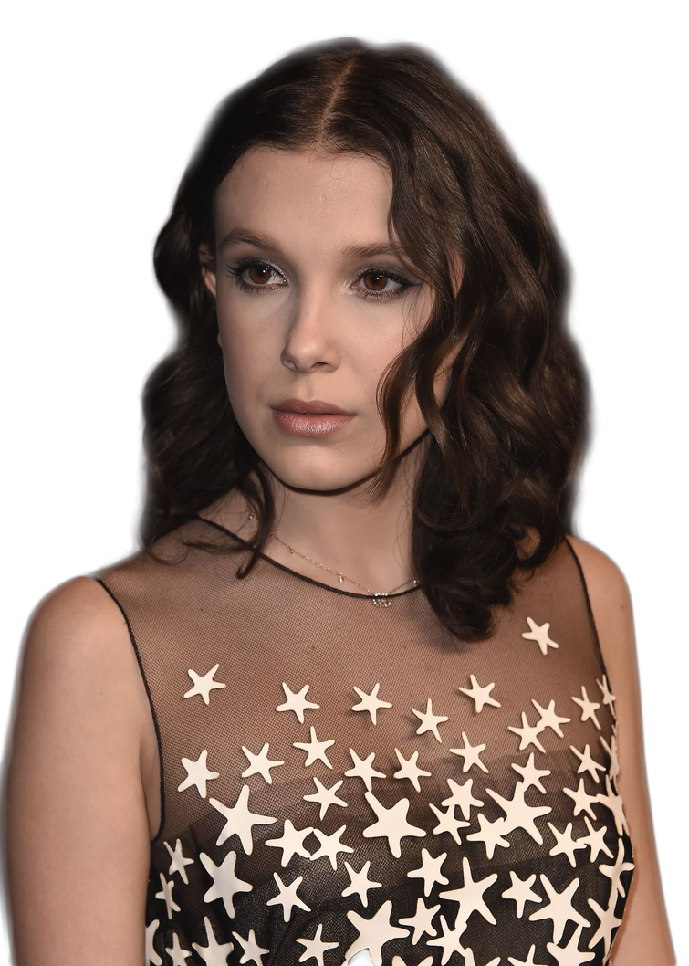 Millie Bobby Brown PNG Image File.