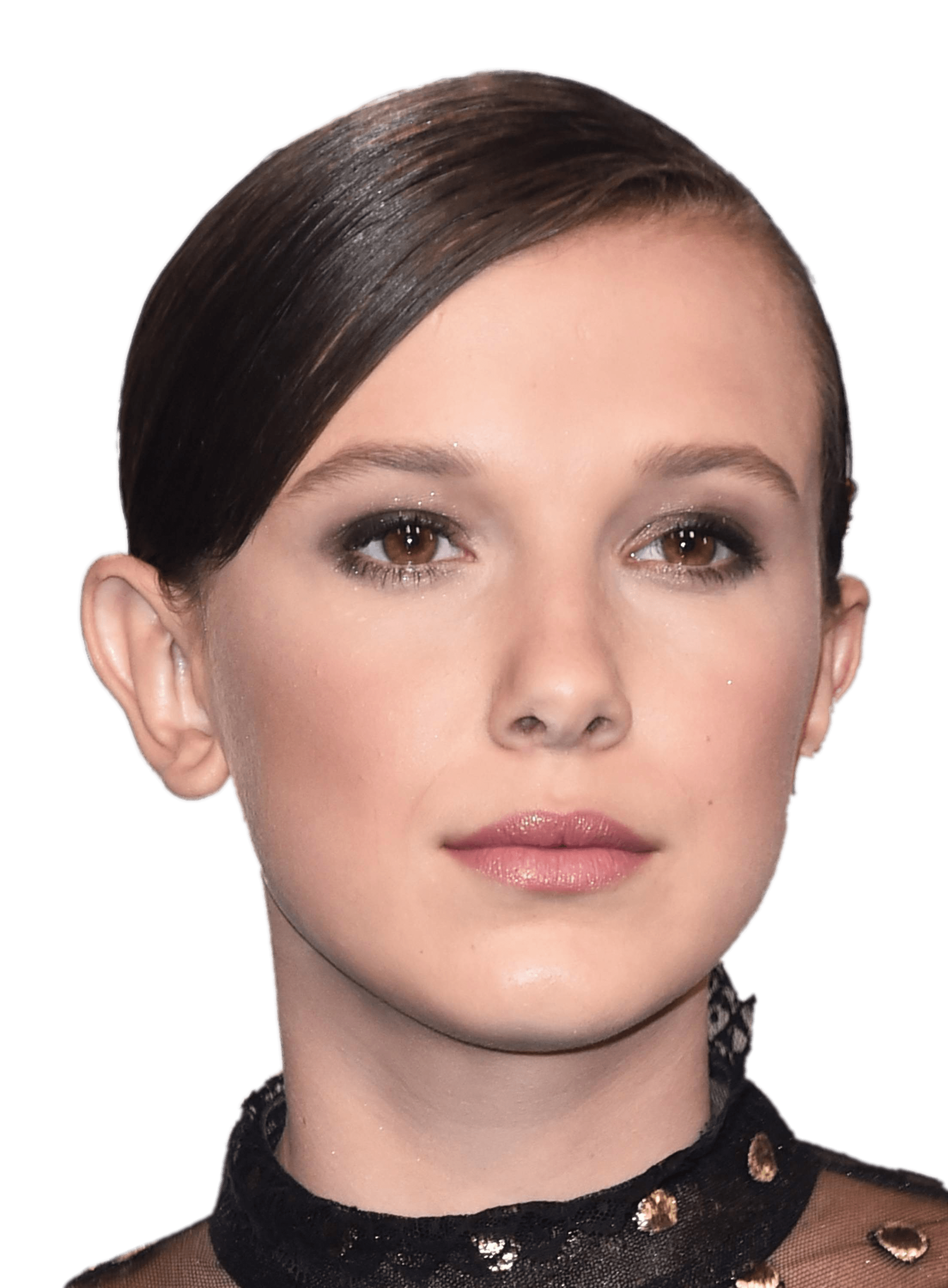 Millie Bobby Brown Delicate transparent PNG.