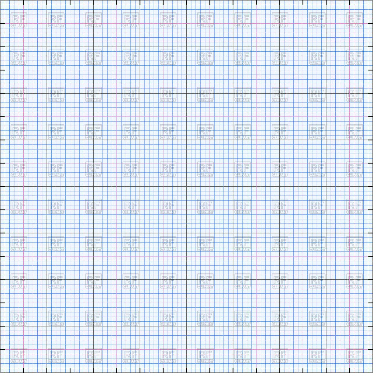 Graph paper grid background Vector Image #86403.