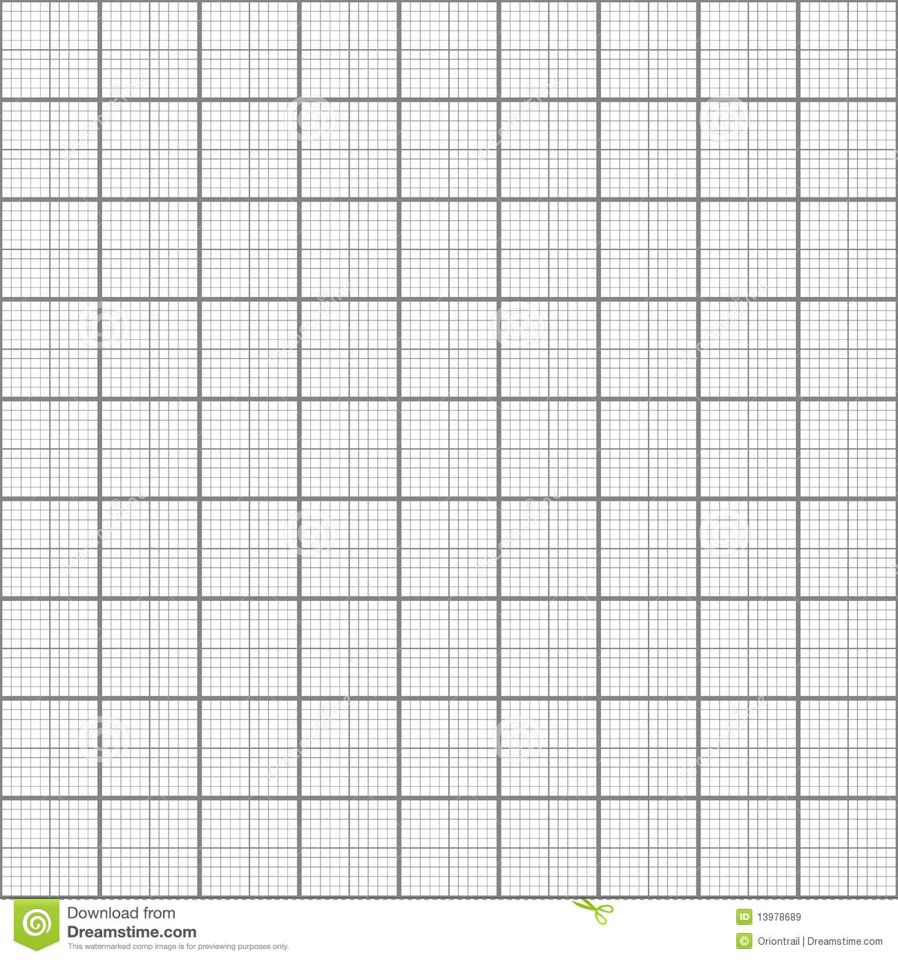 Scientific Grid Paper Royalty Free Stock Images.