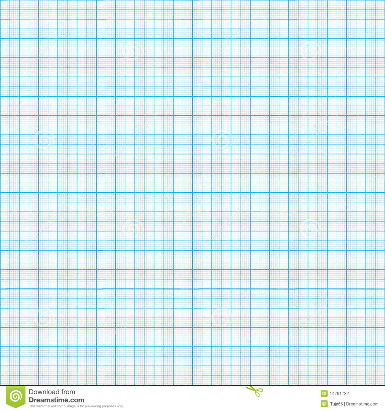 Seamless Graph Paper Stock Photography.