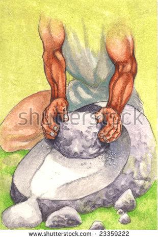 """grind Flour"""" Stock Photos, Royalty."""