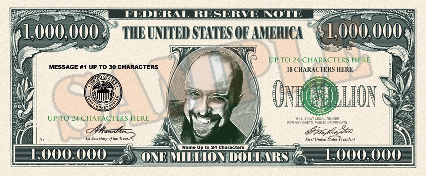Million dollar bill clipart 5 » Clipart Portal.