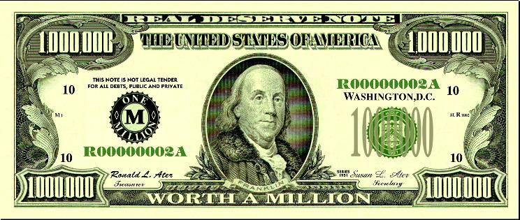 $500.00 dollar bill 2016.
