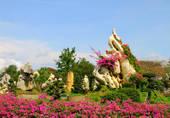 Stock Photography of Million Years Stone Park. Pattaya. Thailand.