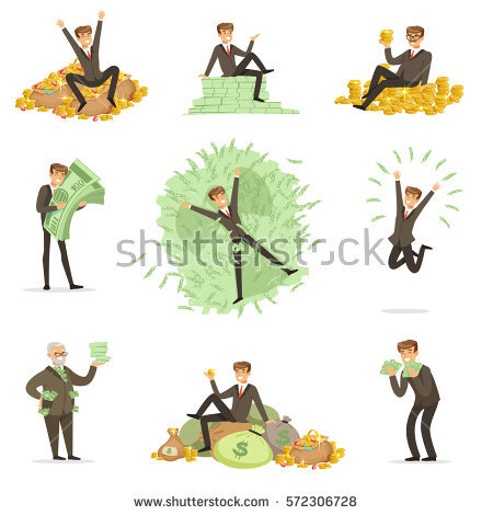 Millionaire Stock Images, Royalty.