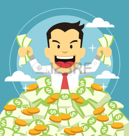9,097 A Rich Millionaire Stock Vector Illustration And Royalty.