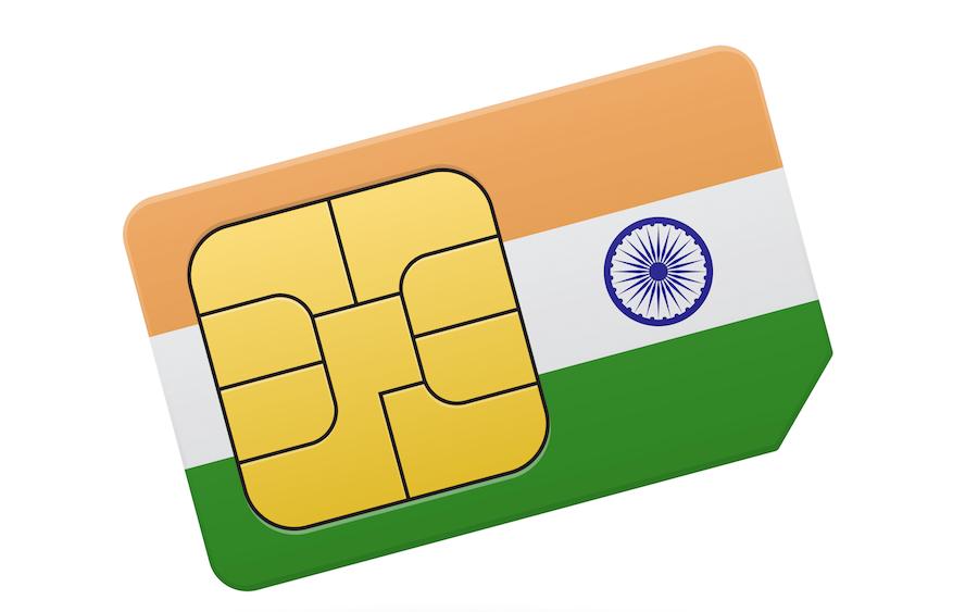 Milna Indian Prepaid Sim Card.