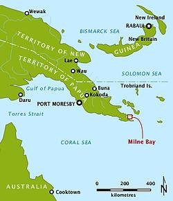 Milne Bay.