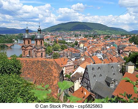 Stock Photos of Miltenberg, Germany.