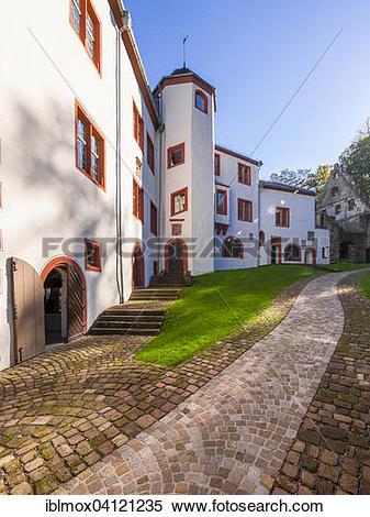 Stock Image of Mildenburg, Miltenberg, Lower Franconia, Bavaria.