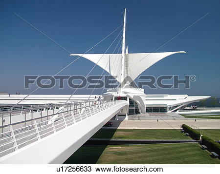 Milwaukee art museum Stock Photo Images. 89 milwaukee art museum.