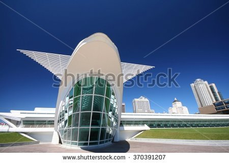 Milwaukee Art Museum Stock Photos, Royalty.