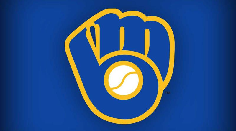 The classic Milwaukee Brewers logo not only looks like a.