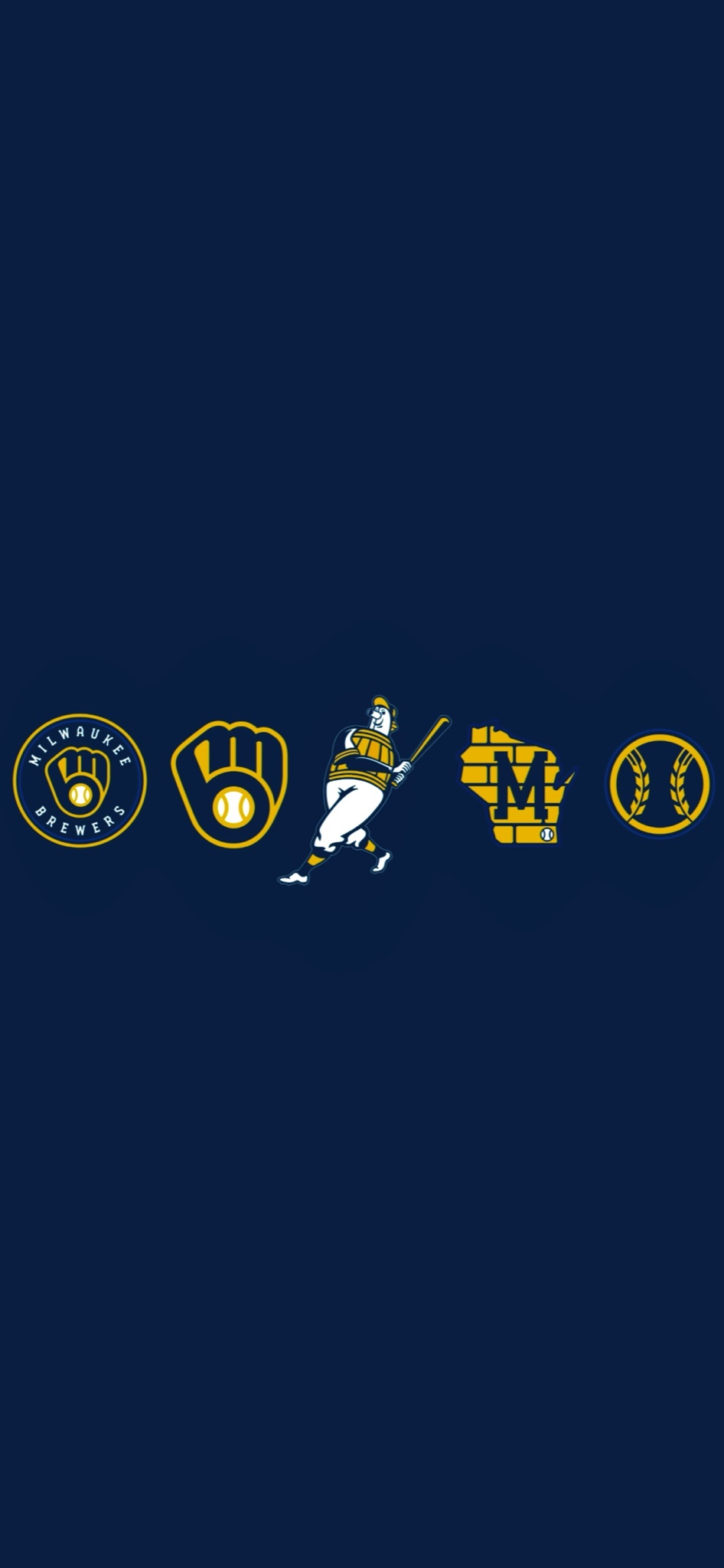Milwaukee Brewers 2020 new logo wallpapers!.