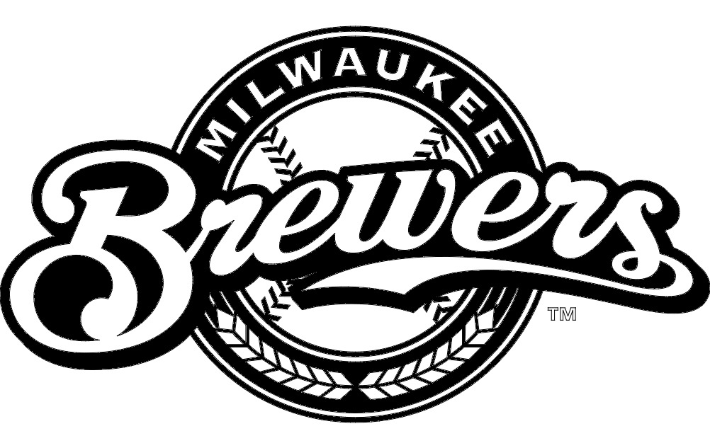 Milwaukee Brewers Logo dxf File Free Download.