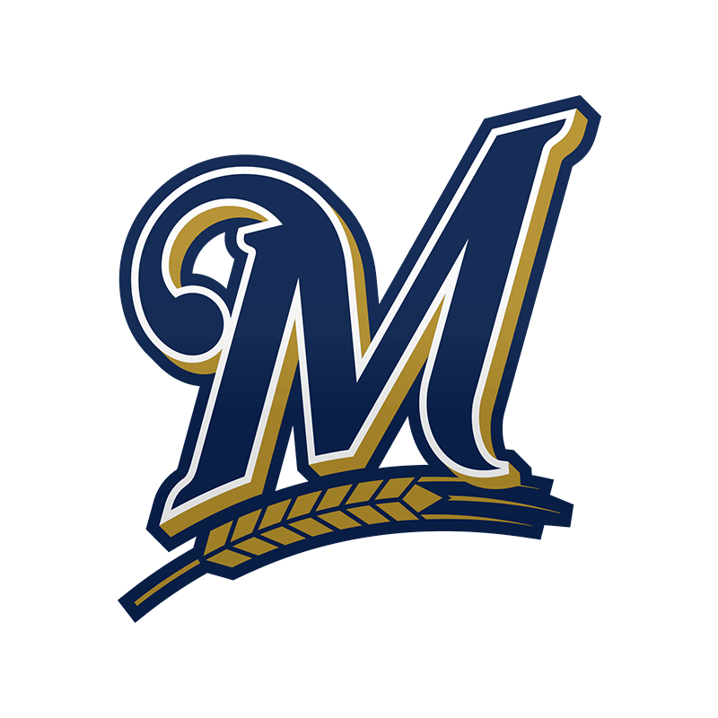 Milwaukee Brewers M Logo transparent PNG.