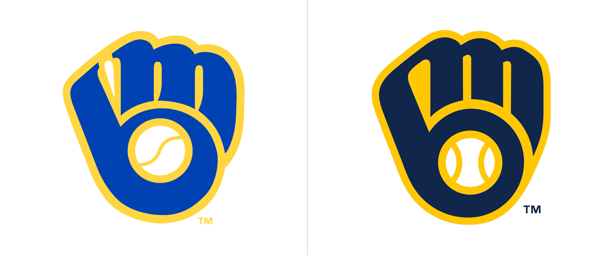 Brand New: New Logos and Uniforms for Milwaukee Brewers by Rare.