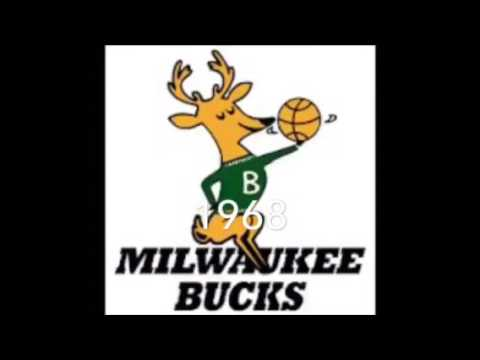 Milwaukee bucks logo history.