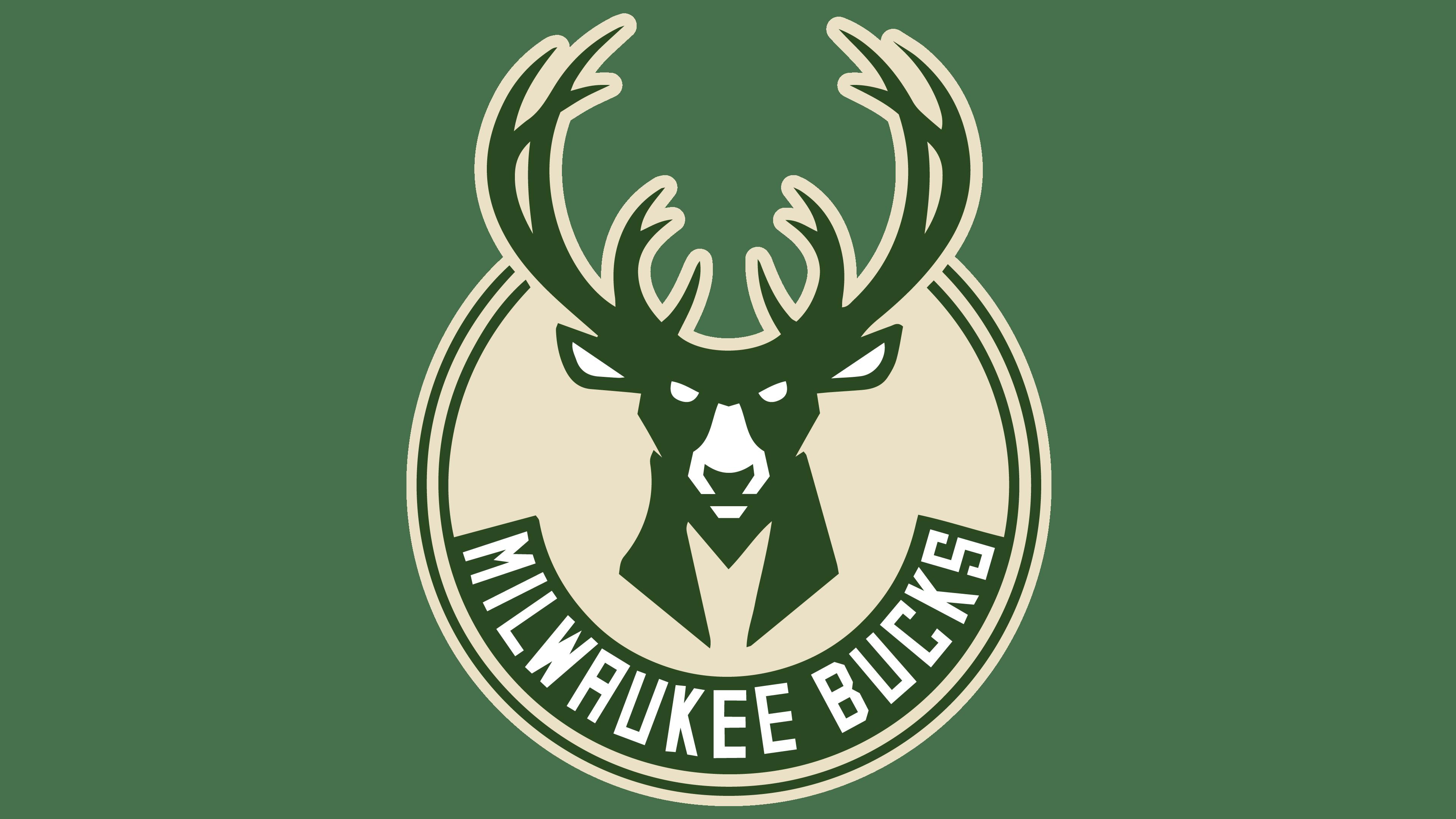 Milwaukee Bucks logos.