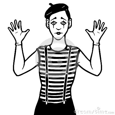 Mime Clipart Page 1.