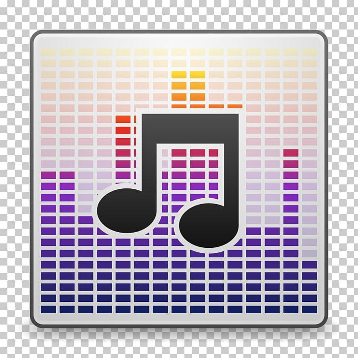 Square purple computer accessory pattern, Mimes audio x.