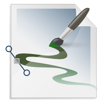 Free Clipart of Gnome Mime Application X Svg.