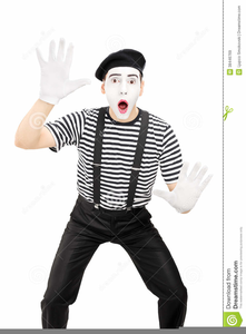 Mime Clipart.