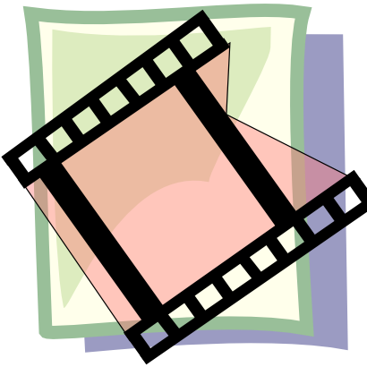 Free Clipart of Video.