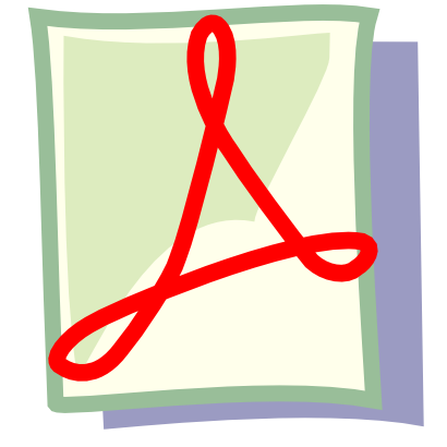 Free Clipart of Pdf.