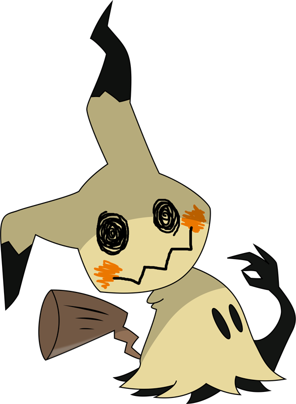 Pokemon 2778 Shiny Mimikyu Pokedex: Evolution, Moves.