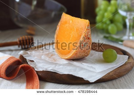 Mimolette Stock Photos, Royalty.