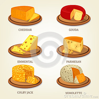 French Mimolette Cheese Stock Photo.