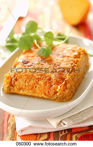Stock Photography of veal shepherds pie with sweet potatoes and.