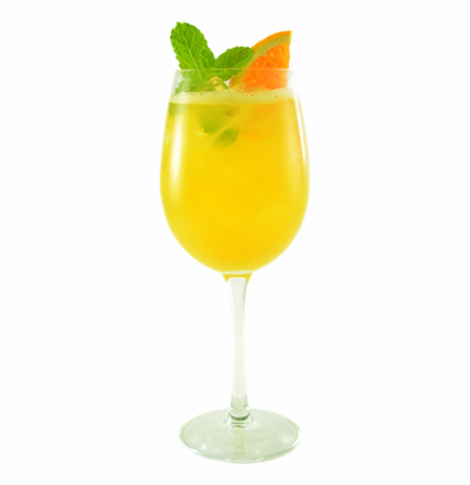 Mimosa Cocktail Png.