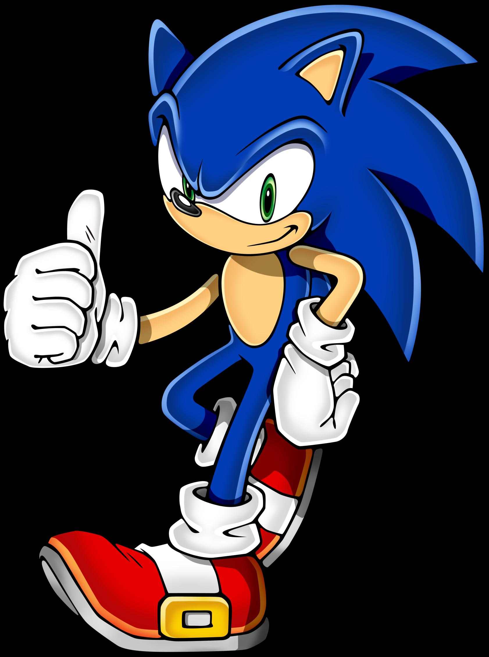 Best Sonic Clip Art #19502.