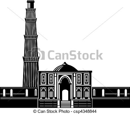 Minar Clipart and Stock Illustrations. 202 Minar vector EPS.