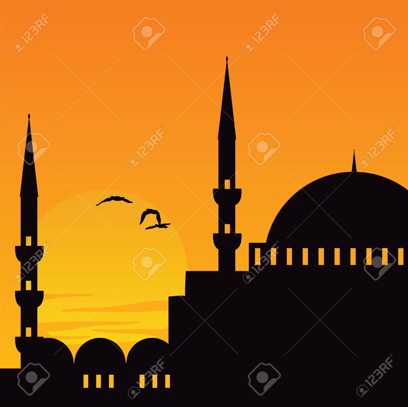 Mosque Royalty Free Cliparts, Vectors, And Stock Illustration.