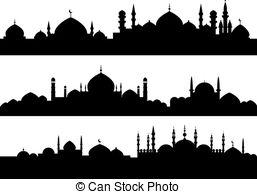 Minarets Vector Clipart Illustrations. 1,579 Minarets clip art.