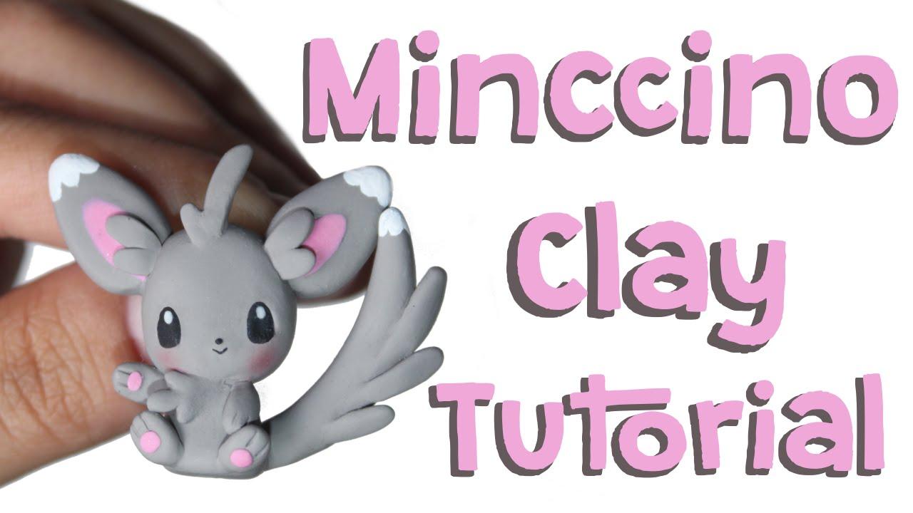 Minccino Polymer Clay Tutorial.