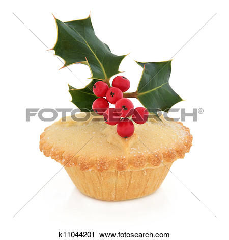 Stock Photography of Mince Pie k11044201.