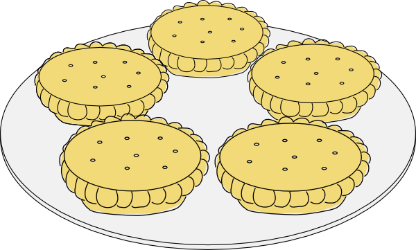 Mince Pies clip art Free Vector / 4Vector.