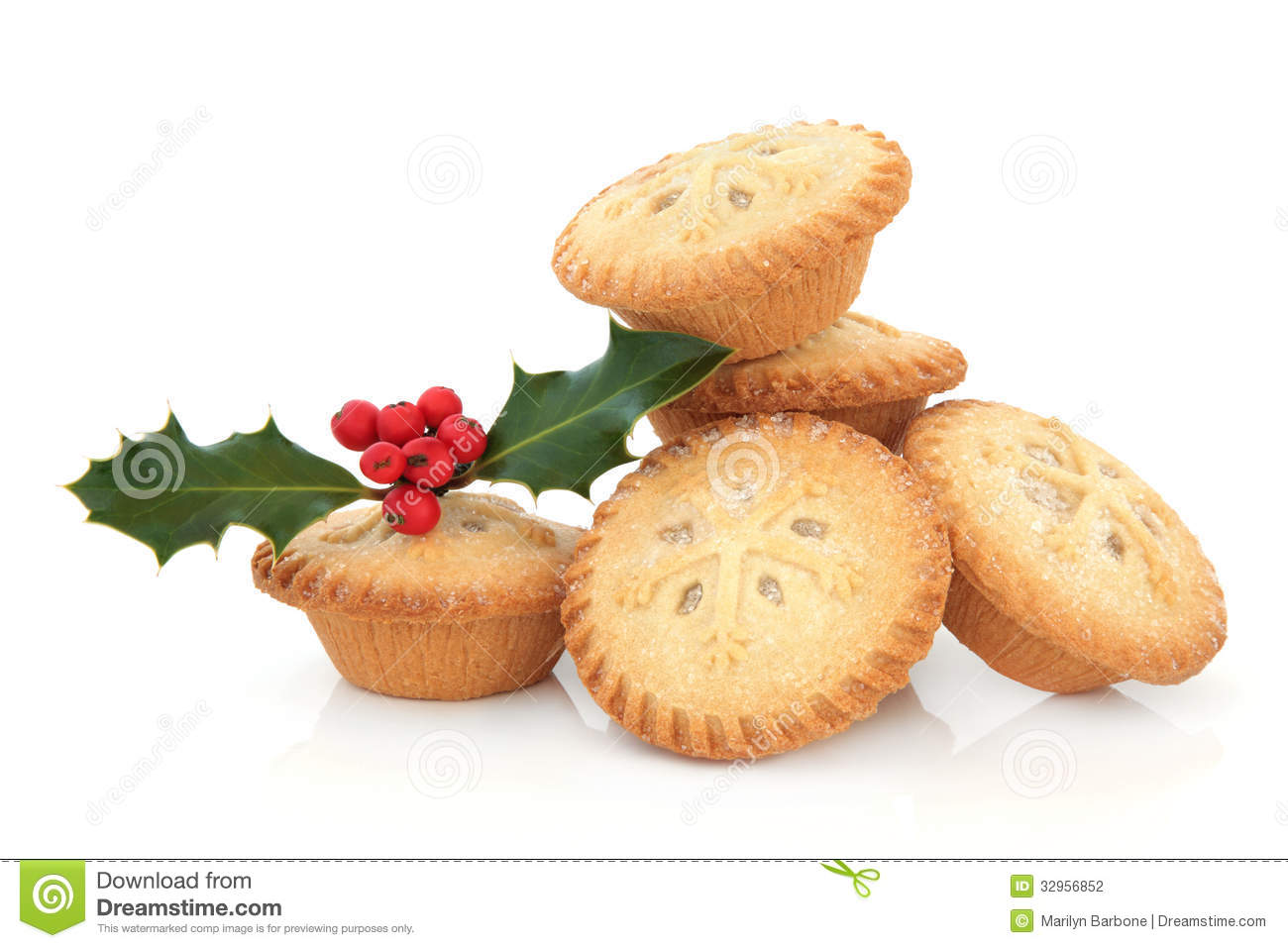 Mince pies clipart.