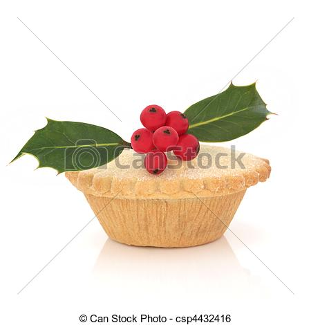 Christmas pie clipart.