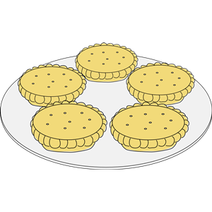 Mince pies clipart, cliparts of Mince pies free download (wmf, eps.